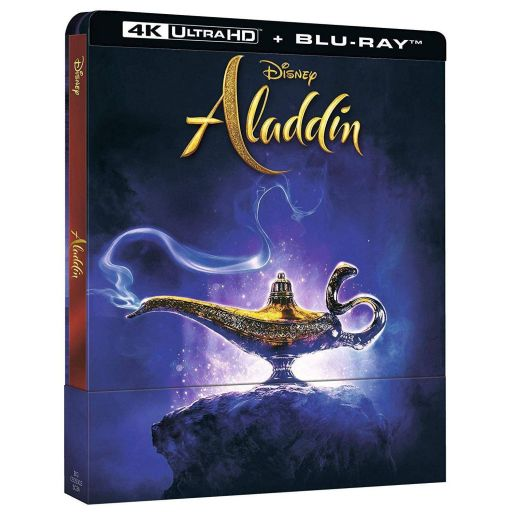 ALADDIN [2019] Limited Edition Steelbook [Imported] (BLU-RAY)