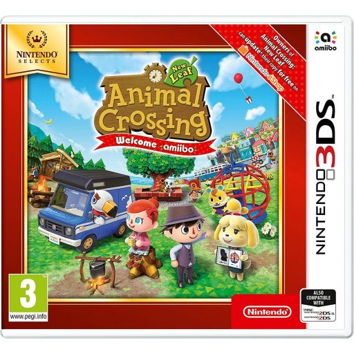 ANIMAL CROSSING NEW LEAF: WELCOME AMIIBO - SELECTS (3DS, DS)