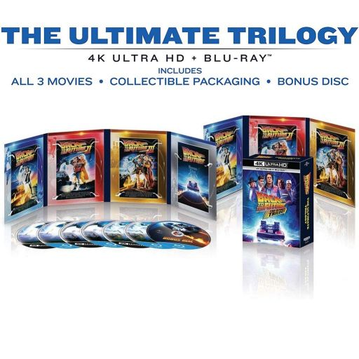 BACK TO THE FUTURE: The Ultimate Trilogy 4K+2D (4K UHD BLU-RAY + BLU-RAY 2D + BLU-RAY BONUS)