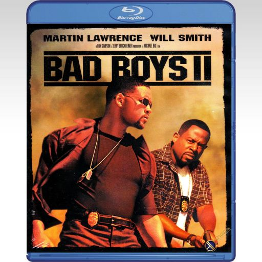 BAD BOYS II - ΤΑ ΚΑΚΑ ΠΑΙΔΙΑ 2 [4K ReMASTERED] (BLU-RAY)