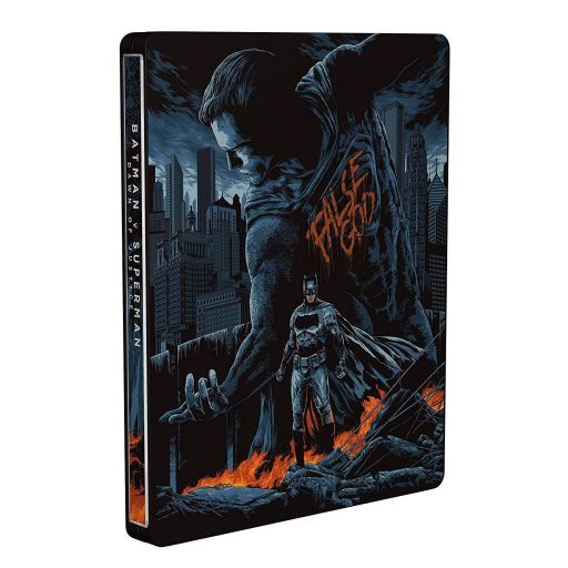 BATMAN V SUPERMAN: DAWN OF JUSTICE Extended Unrated Cut ULTIMATE EDITION Steelbook NEW VISUAL - BATMAN V SUPERMAN: Η ΑΥΓΗ ΤΗΣ ΔΙΚΑΙΟΣΥΝΗΣ Extended Unrated Cut ULTIMATE EDITION Steelbook NEW VISUAL (2 BLU-RAYs)