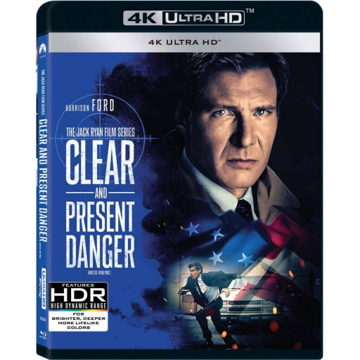 CLEAR AND PRESENT DANGER 4K - ΑΜΕΣΟΣ ΚΙΝΔΥΝΟΣ 4K (4K UHD BLU-RAY)