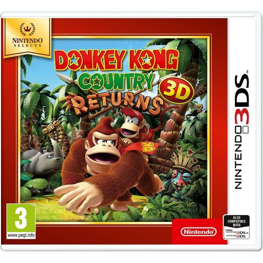DONKEY KONG COUNTRY RETURNS - SELECTS (3DS, 2DS)