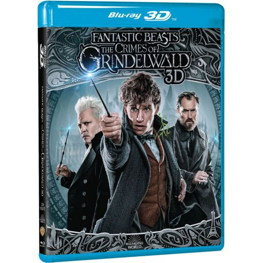 FANTASTIC BEASTS: THE CRIMES OF GRINDELWALD 3D+2D (BLU-RAY 3D + BLU-RAY 2D)