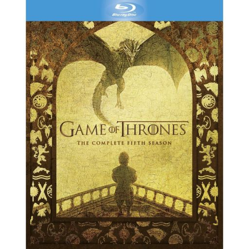 GAME OF THRONES: THE COMPLETE 5th SEASON Slipcover - ΠΑΙΧΝΙΔΙ ΤΟΥ ΣΤΕΜΜΑΤΟΣ: 5η ΠΕΡΙΟΔΟΣ Slipcover (4 BLU-RAYs)