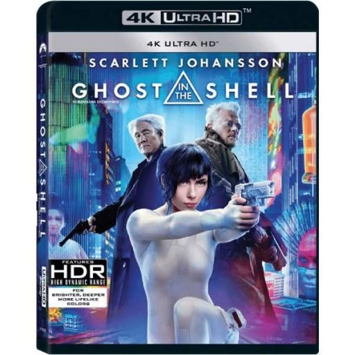 GHOST IN THE SHELL (UHD BLU-RAY)
