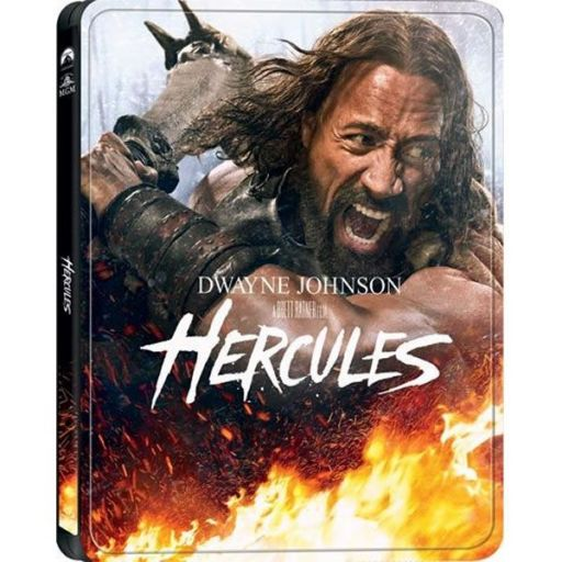 HERCULES 3D Combo - ΗΡΑΚΛΗΣ: ΟΙ ΘΡΑΚΙΚΟΙ ΠΟΛΕΜΟΙ 3D Combo Limited Collector's Edition Steelbook (BLU-RAY 3D + BLU-RAY)