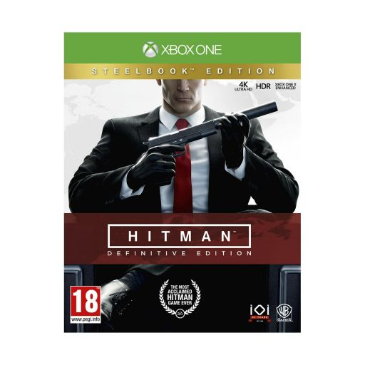 HITMAN - DEFINITIVE EDITION Day One Limited Steelbook Edition (XBOX ONE)