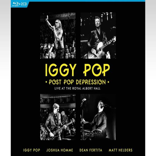IGGY POP: POST POP DEPRESSION - LIVE AT THE ROYAL ALBERT HALL (BLU-RAY)