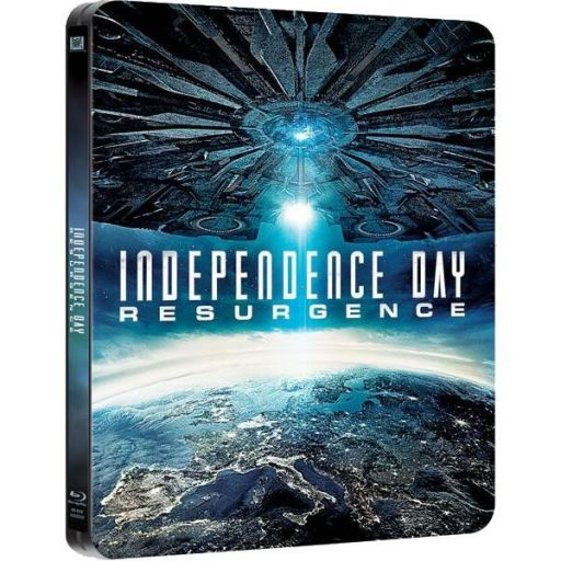 INDEPENDENCE DAY: RESURGENCE 3D Limited Edition Steelbook [Imported] (BLU-RAY 3D + BLU-RAY) + GIFT Steelbook PROTECTIVE SLEEVE