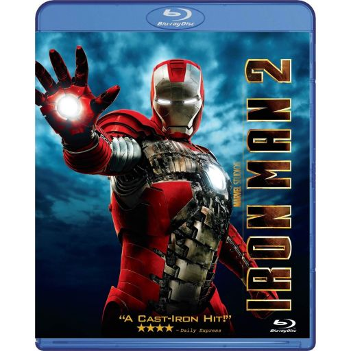 IRON MAN 2 (BLU-RAY) ***MARVEL EXCLUSIVE***