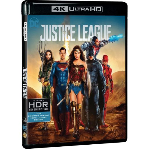JUSTICE LEAGUE 4K+2D (4K UHD BLU-RAY + BLU-RAY)