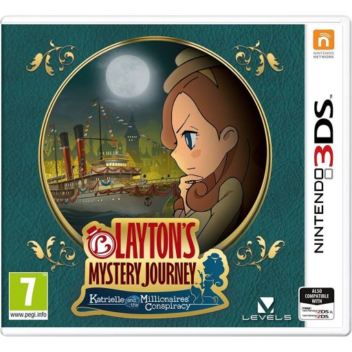 LAYTON'S MYSTERY JOURNEY: KATRIELLE AND THE MILLIONAIRES' CONSPIRACY (3DS, DS)
