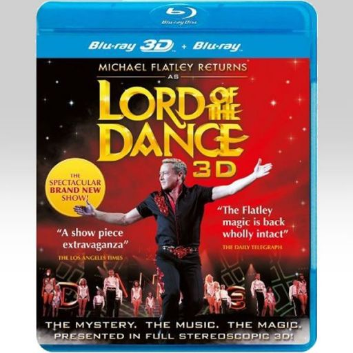MICHAEL FLATLEY RETURNS AS LORD OF THE DANCE 3D (BLU-RAY 3D/2D)