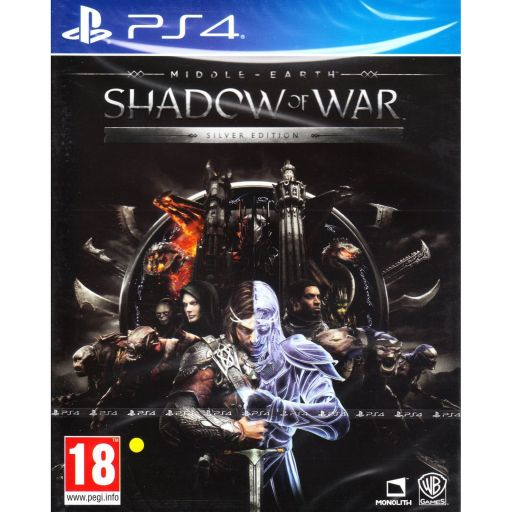 MIDDLE EARTH: SHADOW OF WAR - SILVER EDITION (PS4)