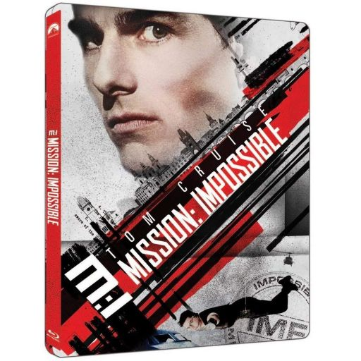 MISSION IMPOSSIBLE 1 4K+2D - ΕΠΙΚΙΝΔΥΝΗ ΑΠΟΣΤΟΛΗ 1 4K+2D Limited Edition Steelbook (4K UHD BLU-RAY + BLU-RAY 2D)