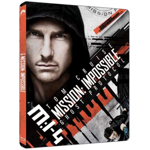 MISSION IMPOSSIBLE 4: GHOST PROTOCOL 4K+2D - ΕΠΙΚΙΝΔΥΝΗ ΑΠΟΣΤΟΛΗ 4: ΠΡΩΤΟΚΟΛΟ ΦΑΝΤΑΣΜΑ 4K+2D Limited Edition Steelbook (4K UHD BLU-RAY + BLU-RAY 2D)