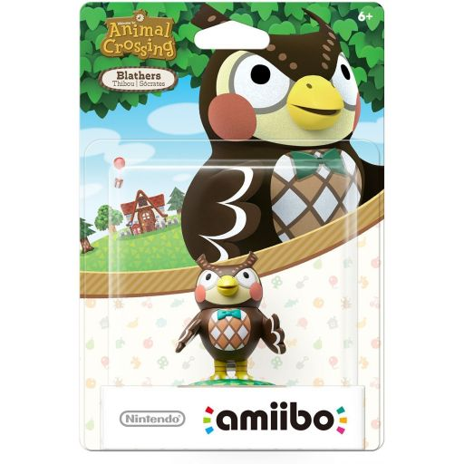 NINTENDO AMIIBO Φιγούρα: BLATHERS Animal Crossing Series