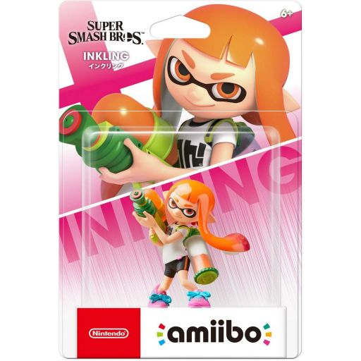 NINTENDO AMIIBO Φιγούρα: INKLING Super Smash Bros. Series