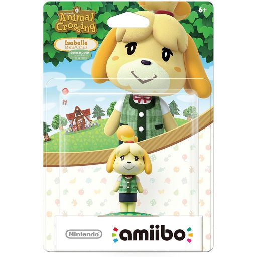 NINTENDO AMIIBO Φιγούρα: ISABELLE SUMMER OUTFIT Animal Crossing Series