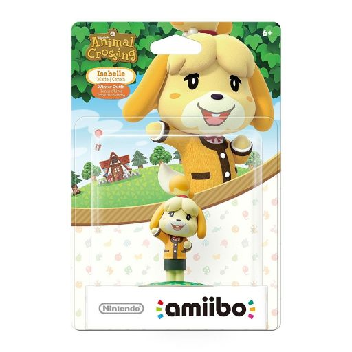 NINTENDO AMIIBO Φιγούρα: ISABELLE WINTER OUTFIT Animal Crossing Series