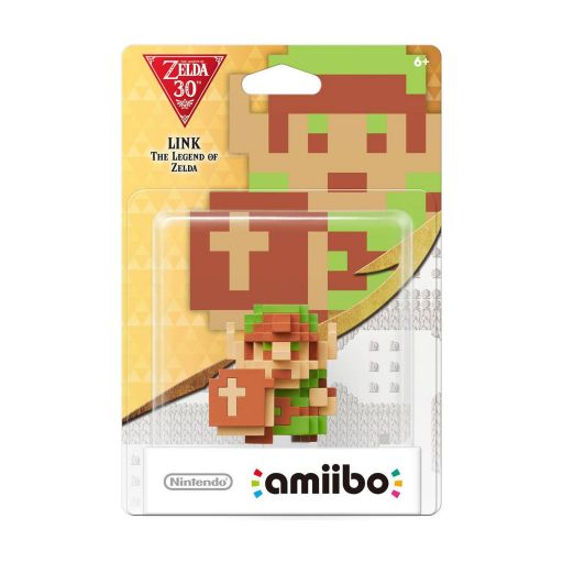 NINTENDO AMIIBO Φιγούρα: LINK 8-BIT The Legend Of Zelda 30th Anniversary Series