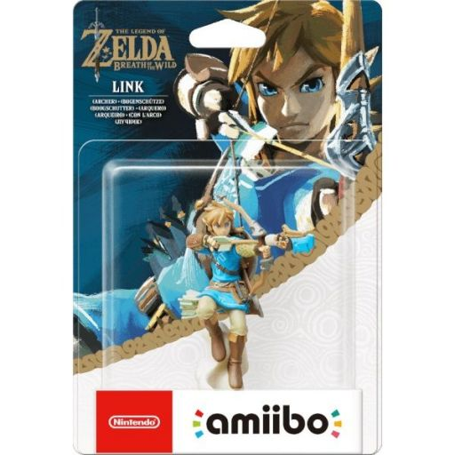 NINTENDO AMIIBO Φιγούρα: LINK ARCHER The Legend Of Zelda: Breath Of The Wild Series
