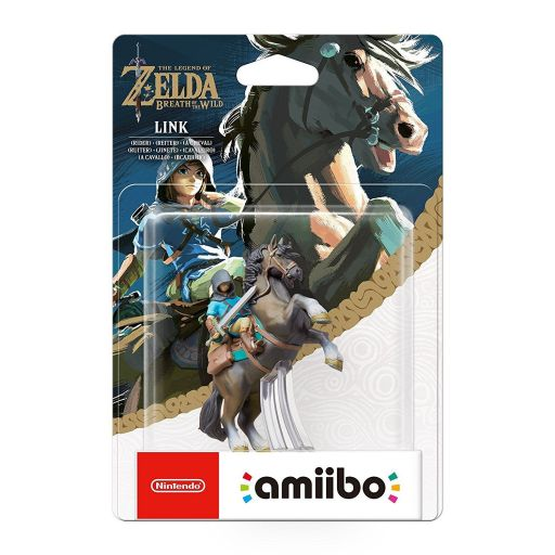 NINTENDO AMIIBO Φιγούρα: LINK RIDER The Legend Of Zelda: Breath Of The Wild Series