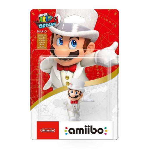 NINTENDO AMIIBO Φιγούρα: MARIO WEDDING Super Mario: Odyssey Series