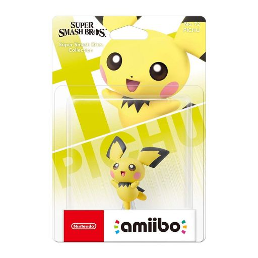 NINTENDO AMIIBO Φιγούρα: PICHU Super Smash Bros. Collection