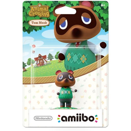 NINTENDO AMIIBO Figure: TOM NOOK Animal Crossing Series