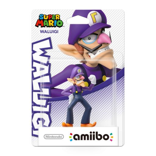 NINTENDO AMIIBO Φιγούρα: WALUIGI Super Mario Series