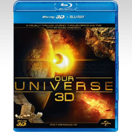 OUR UNIVERSE 3D (BLU-RAY 3D/2D)