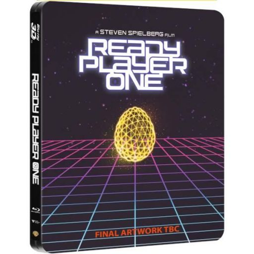 READY PLAYER ONE 3D+2D Limited Edition Steelbook (BLU-RAY 3D + BLU-RAY 2D)