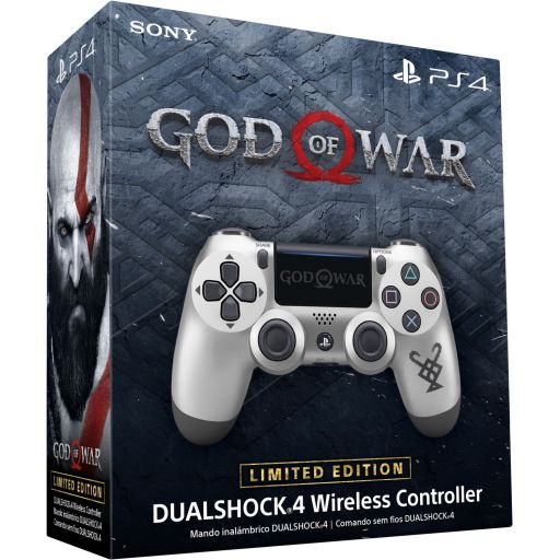 SONY OFFICIAL New WIRELESS CONTROLLER DUALSHOCK 4 v2 God Of War Limited Edition - SONY ΕΠΙΣΗΜΟ ΝΕΟ ΑΣΥΡΜΑΤΟ ΧΕΙΡΙΣΤΗΡΙΟ DUALSHOCK 4 v2 God Of War Limited Edition (PS4)