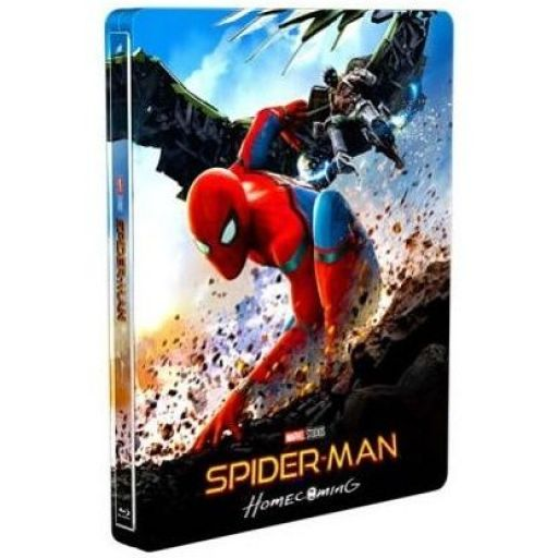 SPIDER-MAN: HOMECOMING 4K+3D+2D - SPIDER-MAN: H ΕΠΙΣΤΡΟΦΗ ΣΤΟΝ ΤΟΠΟ TOY 4K+3D+2D ΑΠΟΚΛΕΙΣΤΙΚΟ Limited Edition Exclusive Steelbook (4K UHD BLU-RAY + BLU-RAY 3D + BLU-RAY 2D)