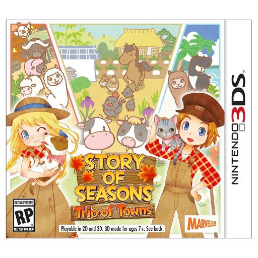 STORY OF SEASONS: TRIO OF TOWNS (3DS, 2DS)