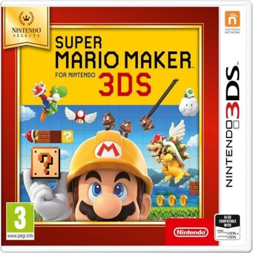 SUPER MARIO MAKER - SELECTS (3DS, 2DS)