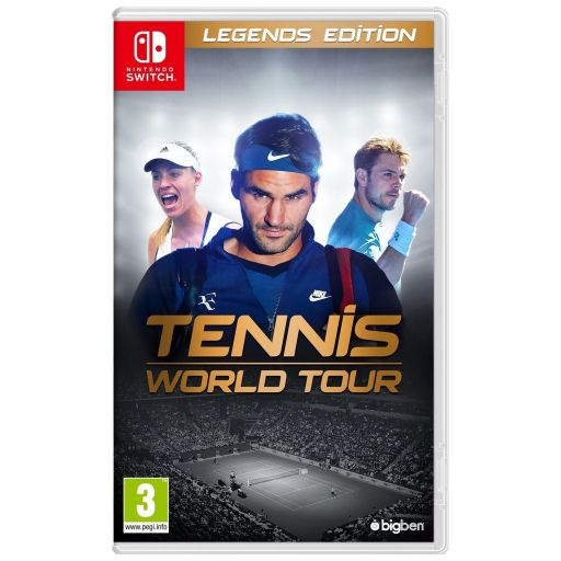 TENNIS WORLD TOUR - Legends Edition (NSW)