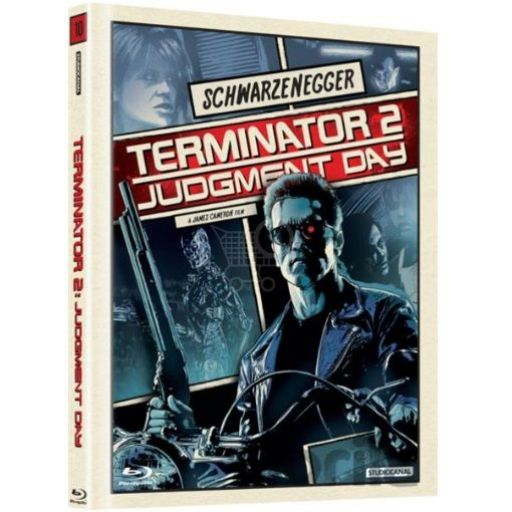 TERMINATOR 2: JUDGEMENT DAY [ΧΩΡΙΣ ΥΠΟΤΙΤΛΟΥΣ] Limited Collector's DigiBook Edition (BLU-RAY)