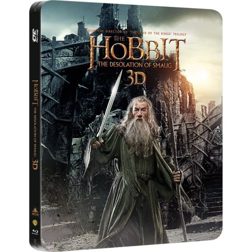 THE HOBBIT: THE DESOLATION OF SMAUG 3D - ΧΟΜΠΙΤ: Η ΕΡΗΜΙΑ ΤΟΥ ΝΟΣΦΙΣΤΗ 3D Limited Collector's Edition Steelbook (2 BLU-RAY 3D + 2 BLU-RAY)