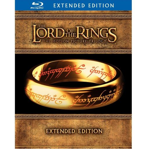 THE LORD OF THE RINGS TRILOGY - EXTENDED EDITION [Imported] (6 BLU-RAYs + 9 DVDs)