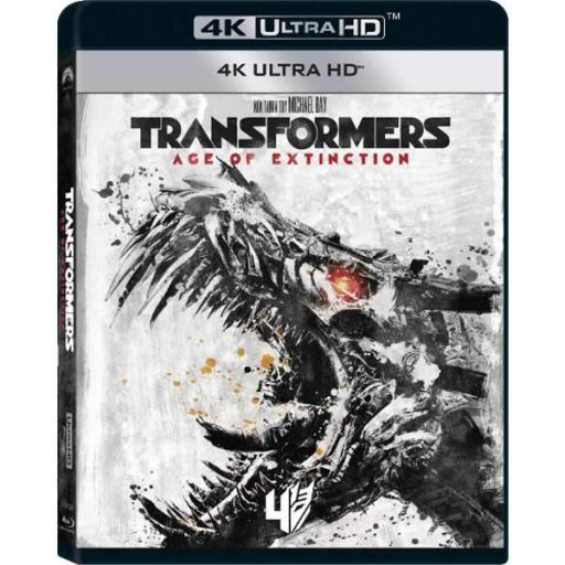 TRANSFORMERS 4: AGE OF EXTINCTION 4K - TRANSFORMERS 4: ΕΠΟΧΗ ΑΦΑΝΙΣΜΟΥ 4K (4K UHD BLU-RAY)