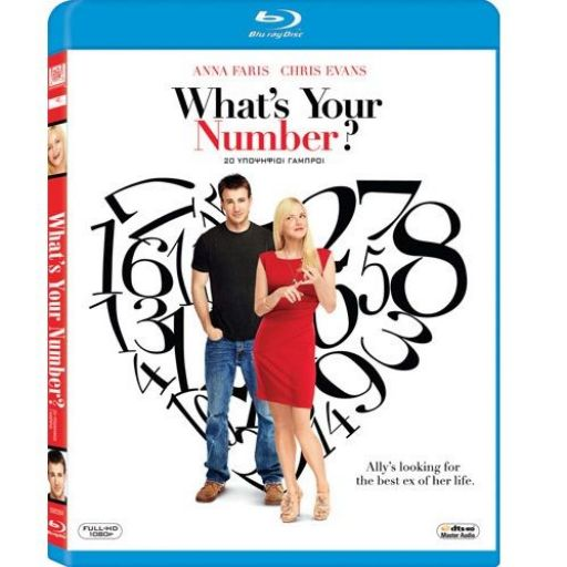 WHAT'S YOUR NUMBER - 20 ΥΠΟΨΗΦΙΟΙ ΓΑΜΠΡΟΙ (BLU-RAY)