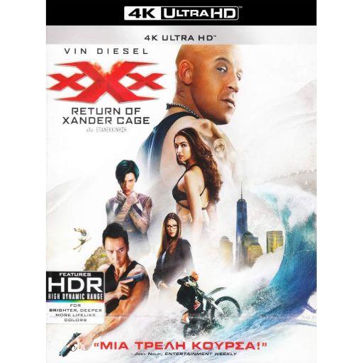 XXX: RETURN OF XANDER CAGE [GREEK] (4K UHD BLU-RAY)