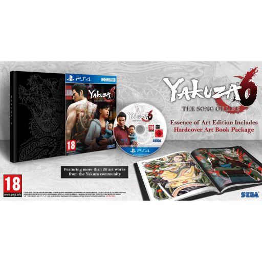 YAKUZA 6: THE SONG OF LIFE - DAY 1 Essense of Art Edition (PS4)