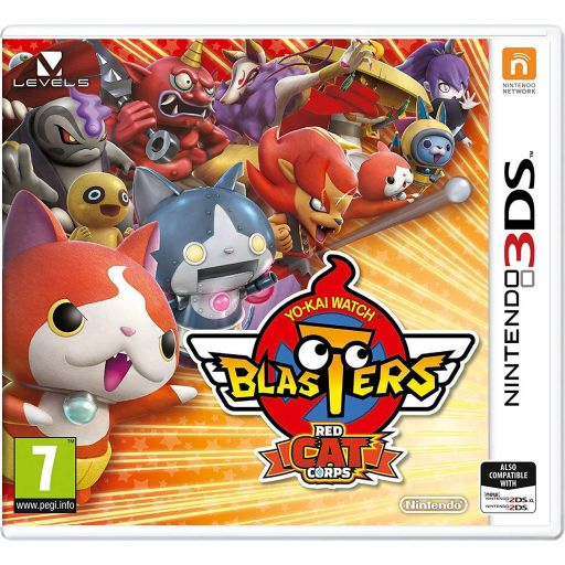 YO-KAI WATCH BLASTERS RED CAT CORPS (3DS, 2DS)