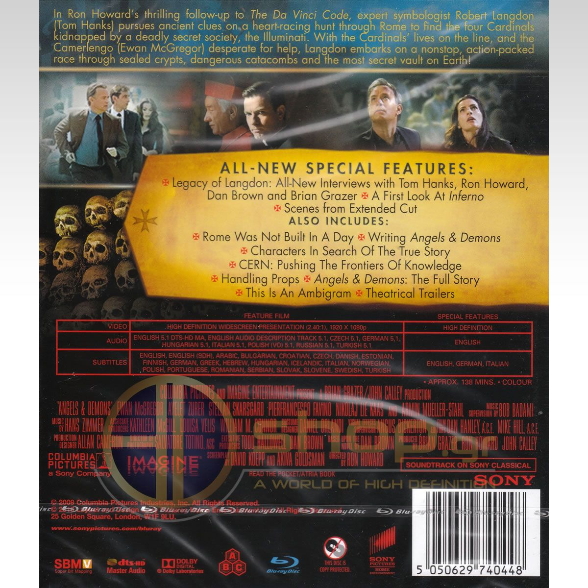 Angels And Demons 4k Remastered Blu Ray Hd Shop Gr