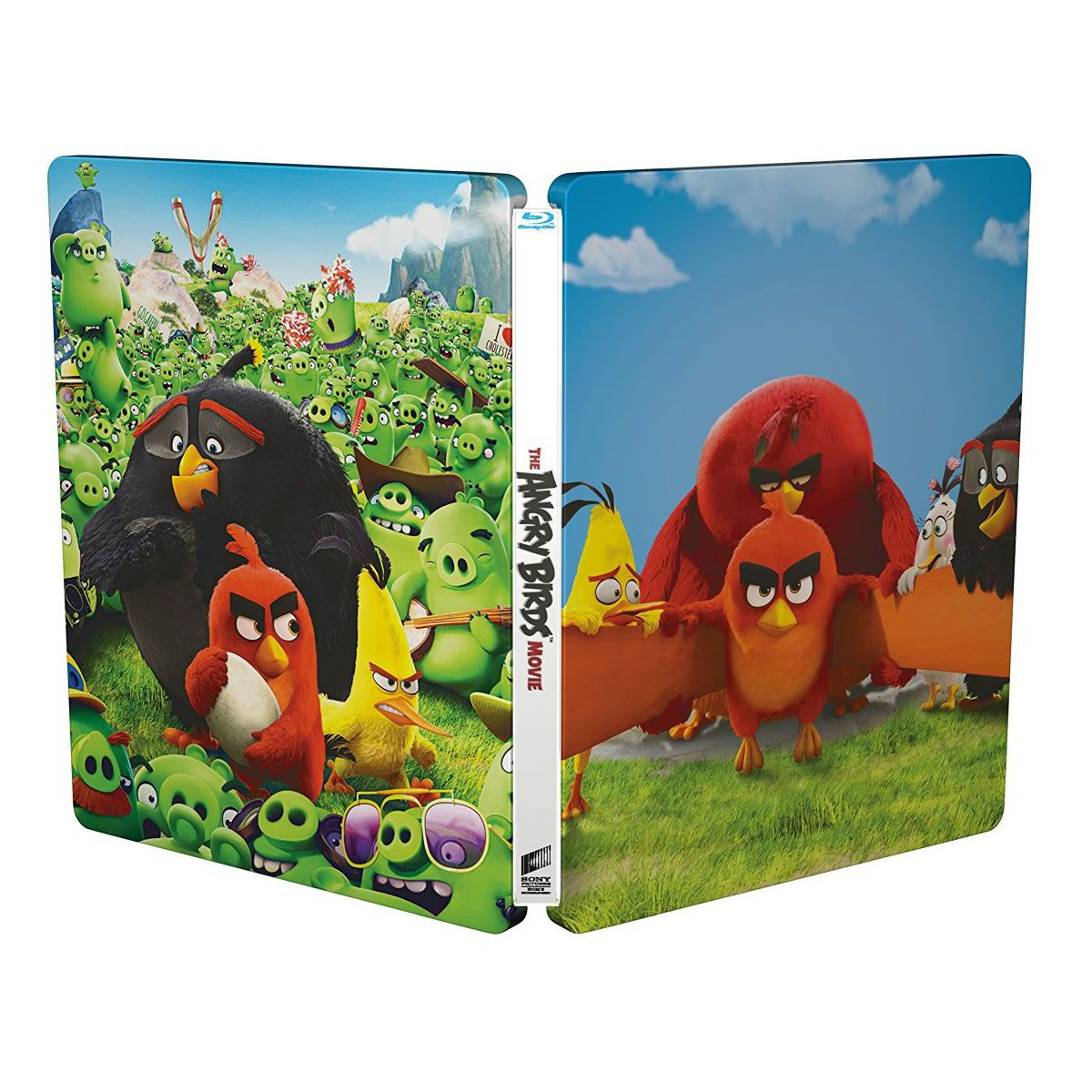 angry birds the movie 3d limited edition steelbook imported blu