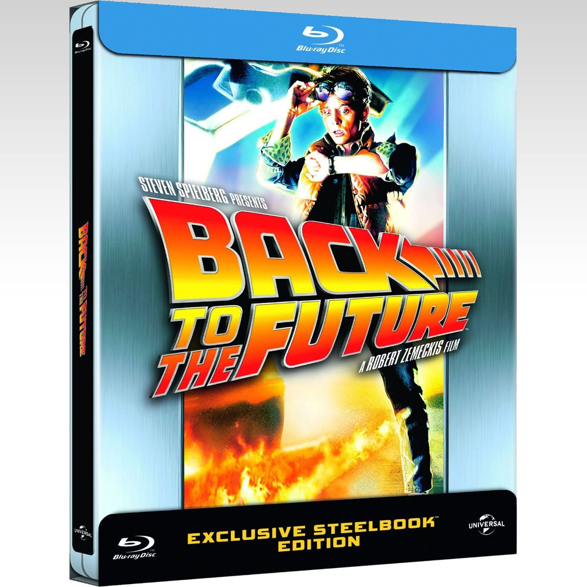 BACK TO THE FUTURE 1 Limited Edition Steelbook [Imported] (BLU-RAY